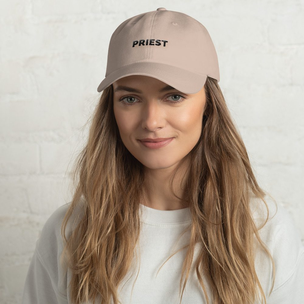 """PRIEST"" Dad Hat"